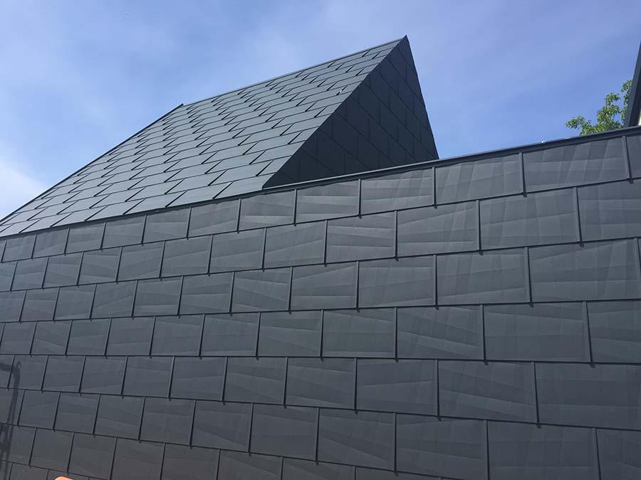 Prefa Fassade und Dach